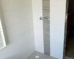 Mosaikfliesen in einer Dusche